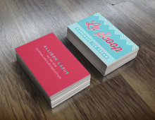 La Scoop Business Card